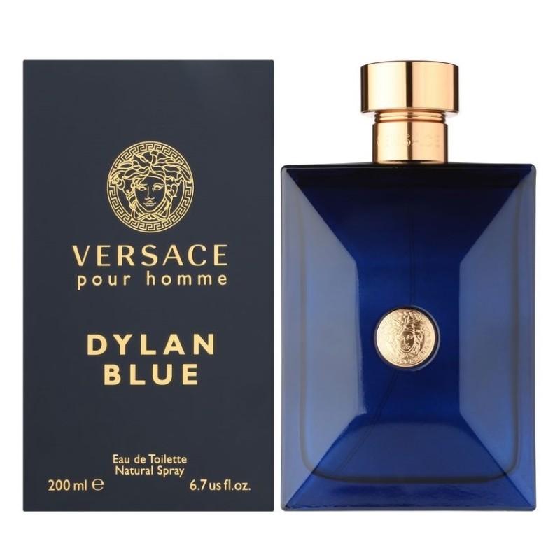 VERSACE Pour Homme Dylan Blue EDT 200ml Vīriešu Smaržas