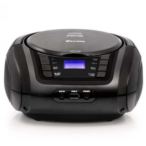 Vakoss PF-6542K CD/MP3/USB/FM BOOMBOX PF-6542K akustiskā sistēma