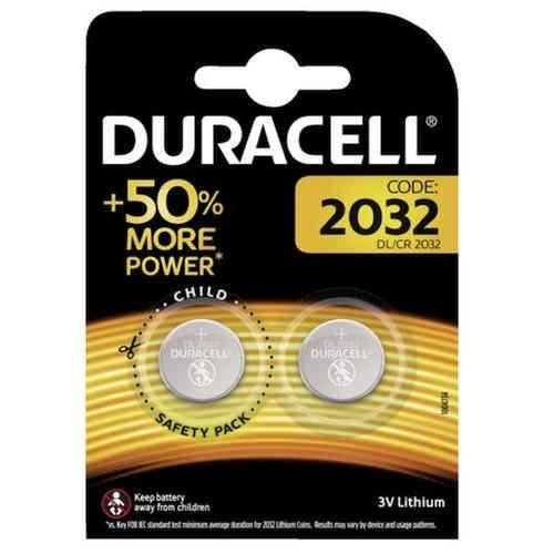 DURACELL DL2032 BLISTERA IEPAKOJUMA 2GB. Baterija