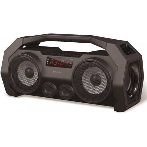 Platinet PMG76B Boombox MicroSD MP3 Bluetooth + FM, IPX5 PMG76B akustiskā sistēma