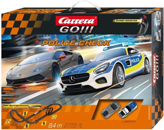 Carrera GO!!! Police Check               62463 Rotaļu auto un modeļi