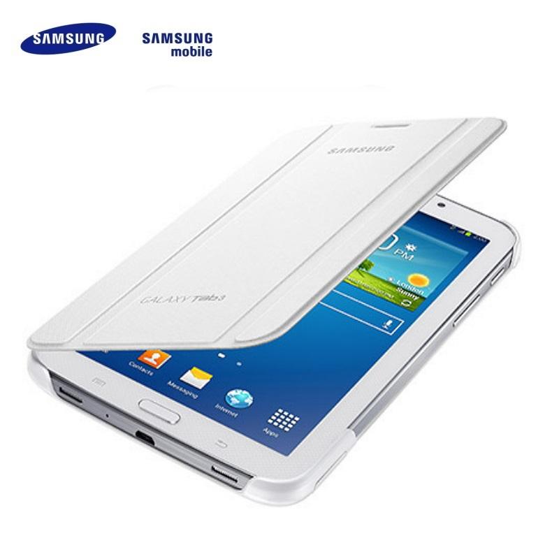 Samsung EF-BT210BWE Galaxy Tab 3 7.0 T210 T211 Saniski atverams maks ar statīvu Balts (EU Blister) planšetdatora soma