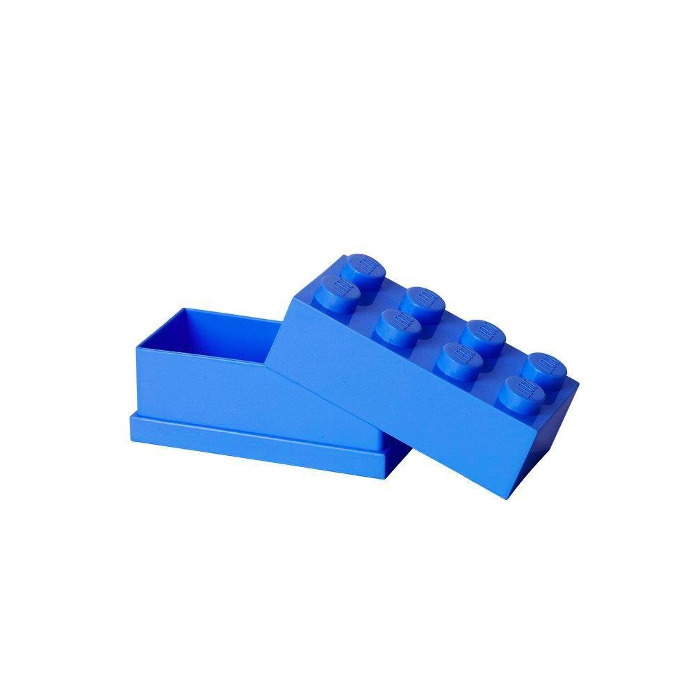 MiniBox brick LEGO with 8 edging (Bright Blue) LEGO konstruktors