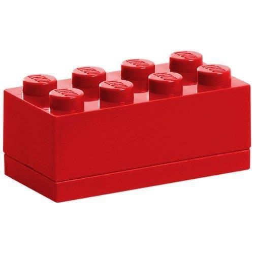 MiniBox brick LEGO with 8 edging (Bright Red) LEGO konstruktors