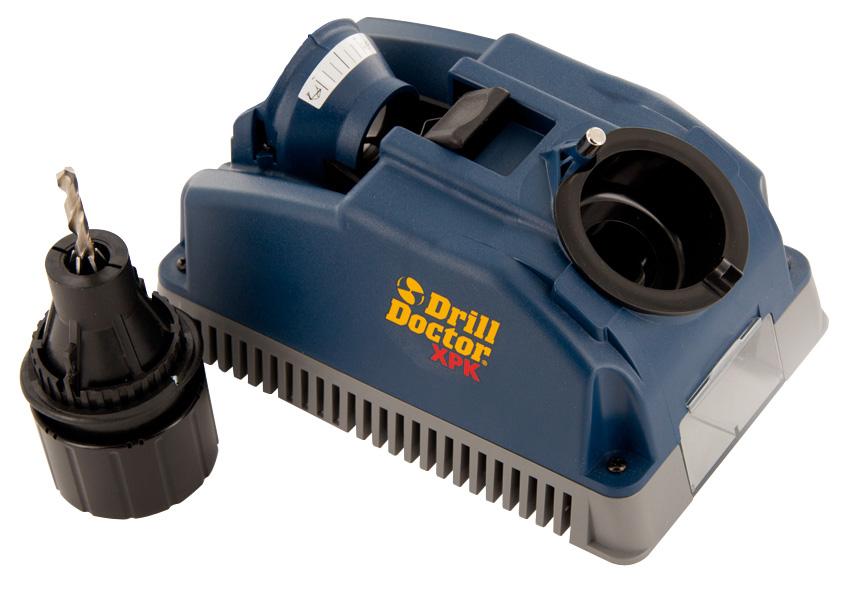 Metala un betona urbju asinasanas stends Drill Doctor 400 urbjiem no O2,5>13 mm ar smailes lenki 118 Instrumentu apstrādei