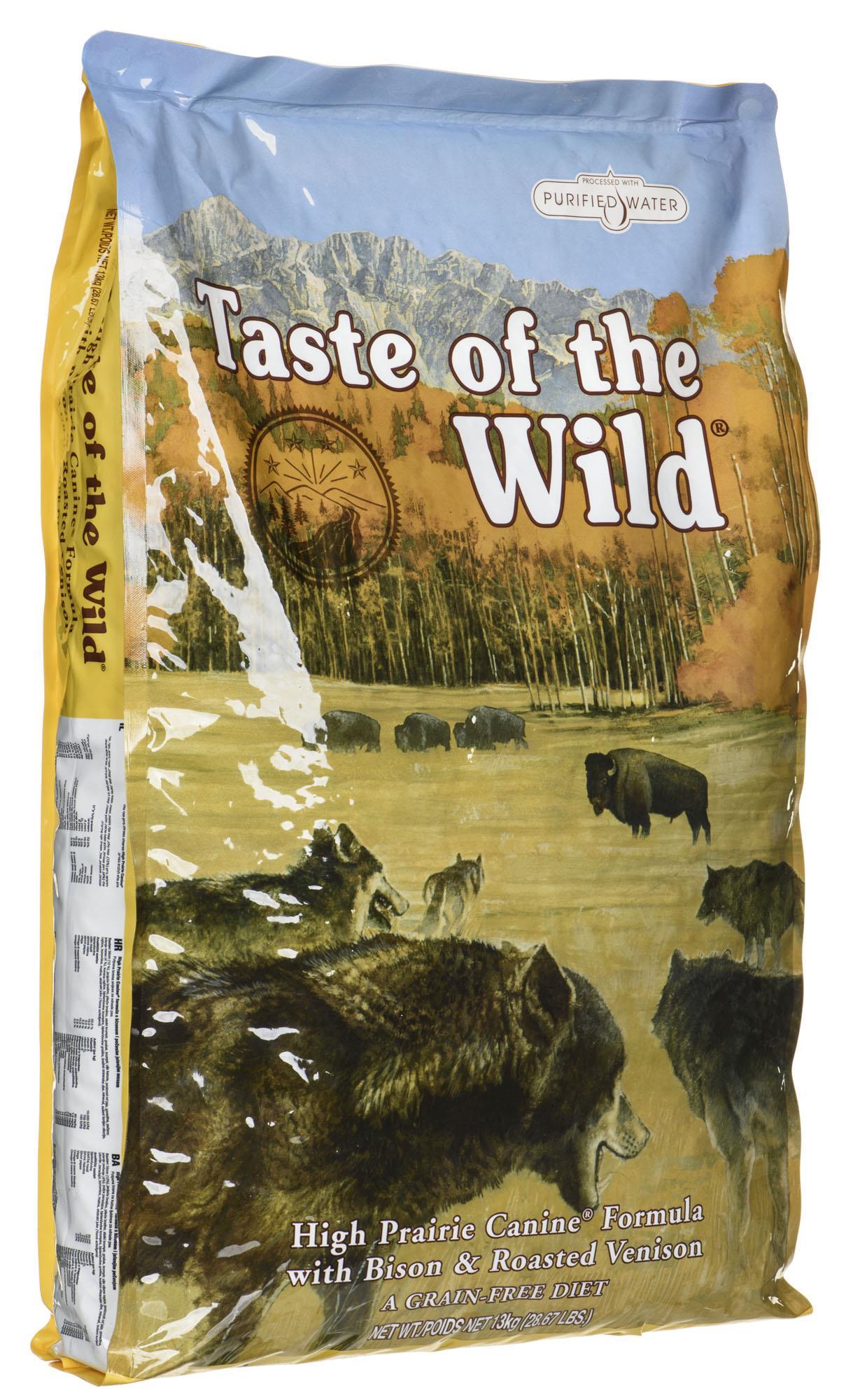 Taste of the Wild Feed Taste of the Wild High Prairie Canine (13 kg ) barība suņiem