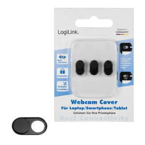 LOGILINK - Webcam cover for laptop, smartphone und tablet PCs web kamera