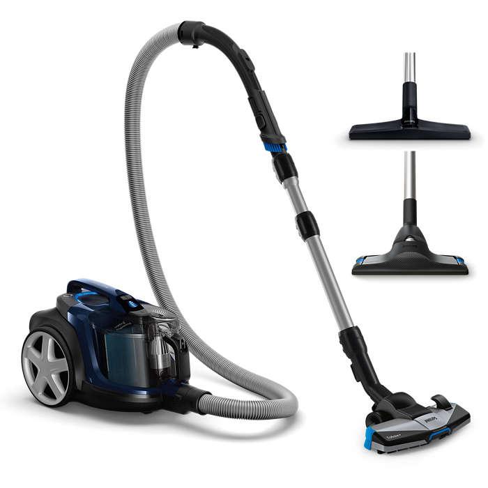 Philips PowerPro Expert Bagless vacuum cleaner FC9743/09 A+ energy efficiency Allergy filter 2L Putekļu sūcējs