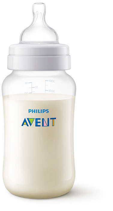 Phillips Avent Pretkoliku pudelīte 330ml, 3M+ SCF816/17 bērnu barošanas pudelīte