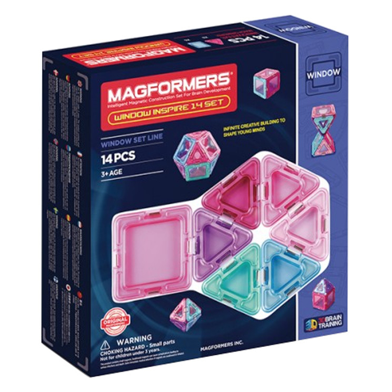 MAGFORMERS Window Inspire 14 set konstruktors