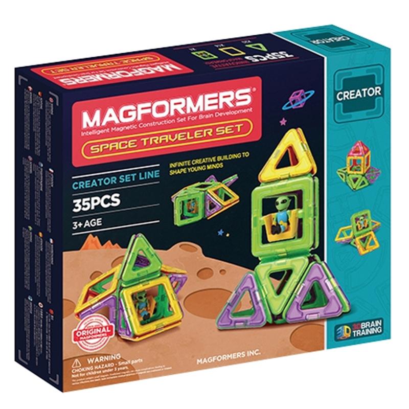 MAGFORMERS Space Traveler set 35P konstruktors