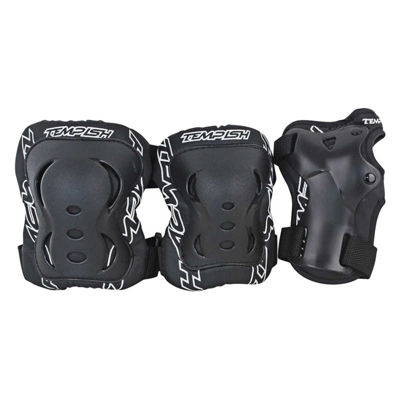 FID 3-set of protect.(knees, elbows, wrists) black L 1020000713 Skrituļslidas