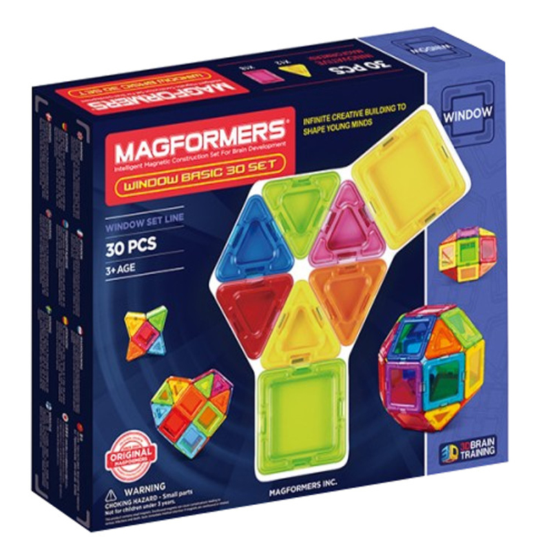 MAGFORMERS Window Basic 30 set konstruktors