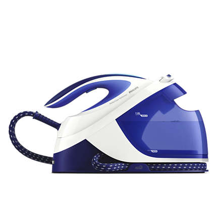 Philips PerfectCare Performer Steam generator iron GC8712/20 Max 6 bar pump pressure Up to 360 g steam boost detachable 1.8 L water tank Gludeklis