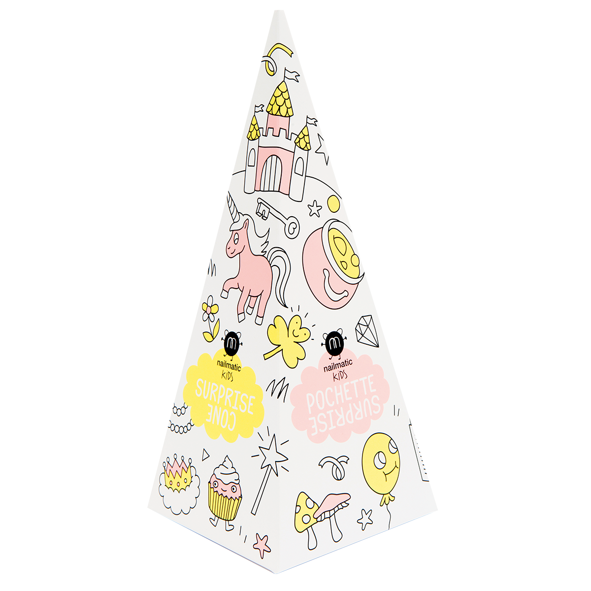 Nailmatic Kids Princess Surprise Cone dāvanu komplekts, Sheepy NKPRINCESS 7290