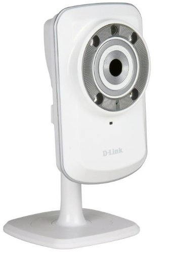 D-Link Securicam Wireless N Home IP Network Camera, WPS, IR w/ myDlink novērošanas kamera