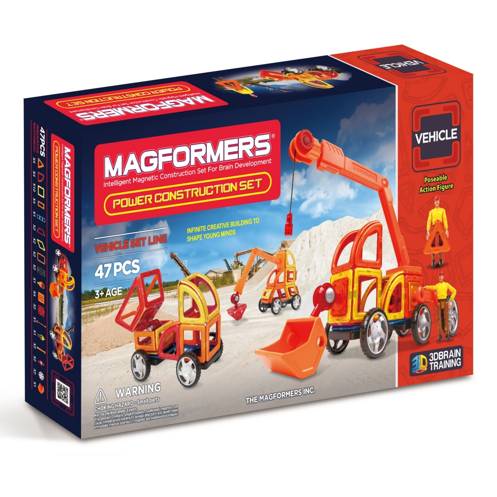 MAGFORMERS Power Construction Set konstruktors
