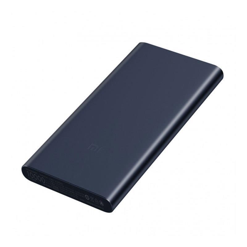 Xiaomi 10000mAh Mi Power Bank 2S Black Powerbank, mobilā uzlādes iekārta