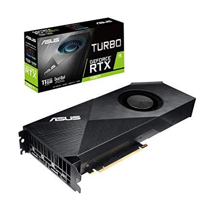 ASUS GeForce RTX 2080 Ti TURBO 11GB TURBO-RTX2080TI-11G video karte