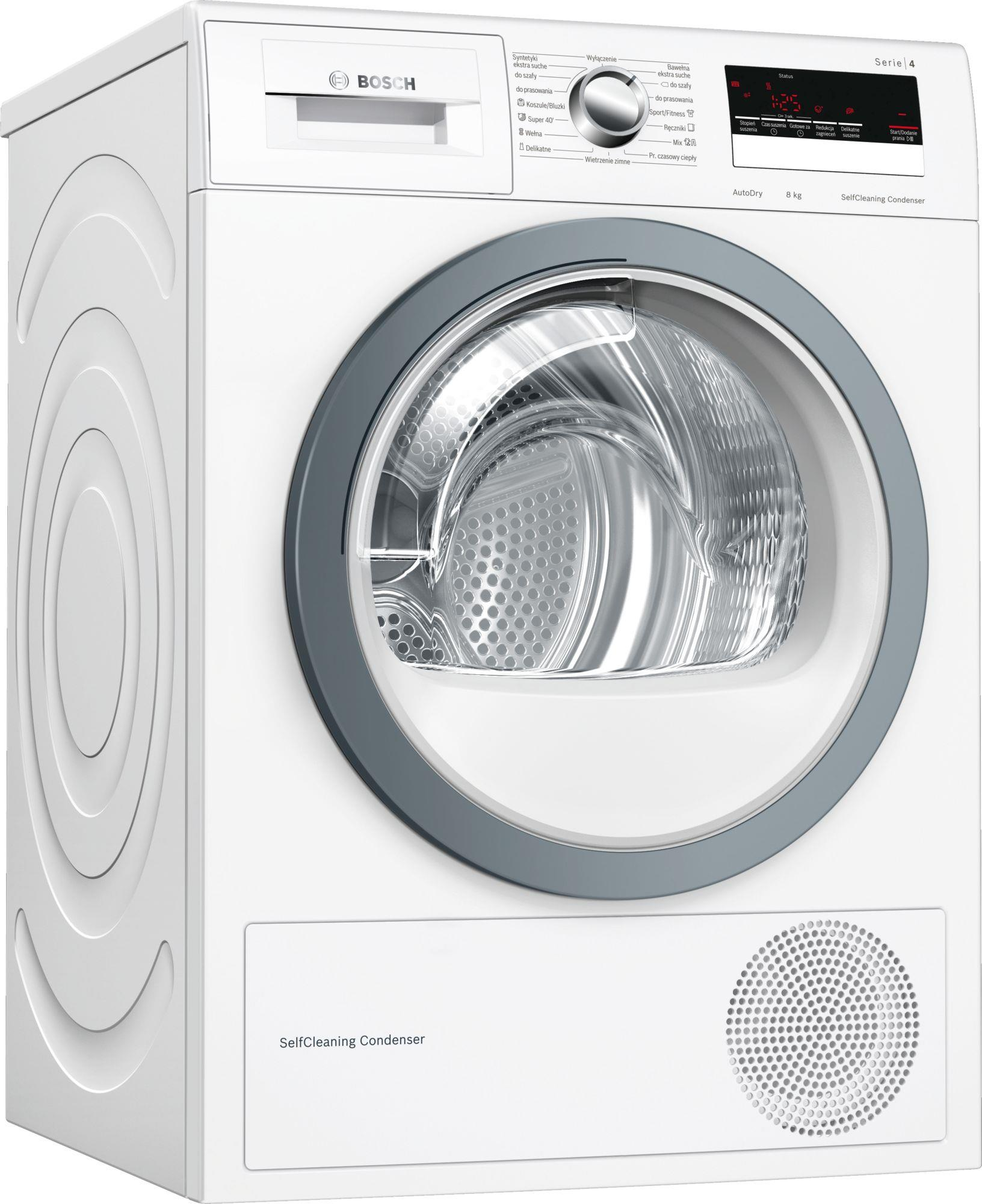 Dryer    BOSCH  WTM8528KPL (8 kg; 599 mm) WTM8528KPL Veļas žāvētājs