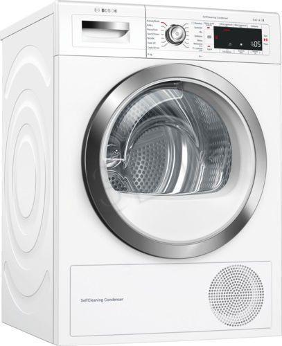 Dryer    BOSCH  WTW 85562PL (Above 8 kg; 599 mm) WTW 85562PL Veļas žāvētājs