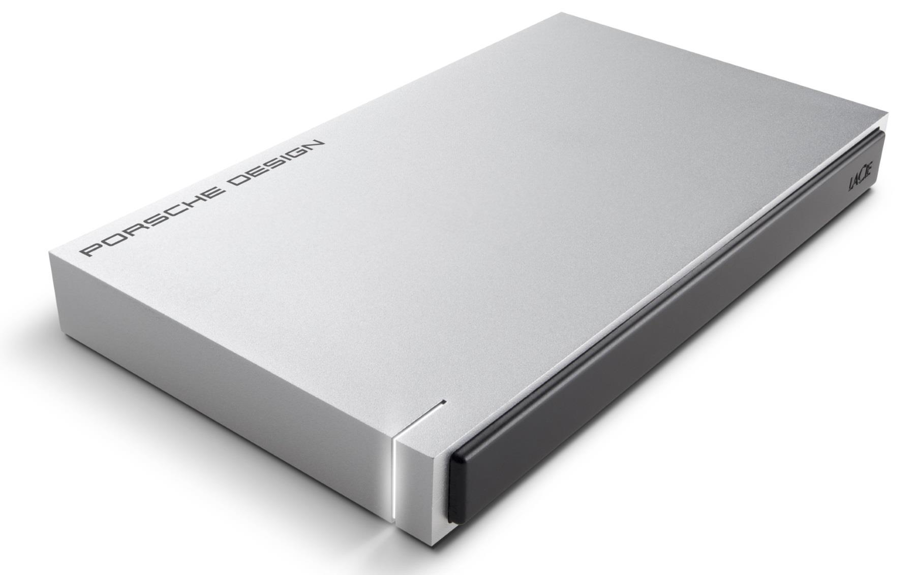 LaCie  STET1000400_BULK (1 TB; 2.5 Inch; USB 3.0; No data; silver color) Ārējais cietais disks