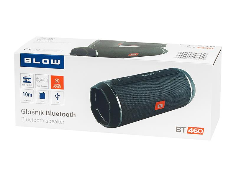 Speaker BT-460 black pārnēsājamais skaļrunis