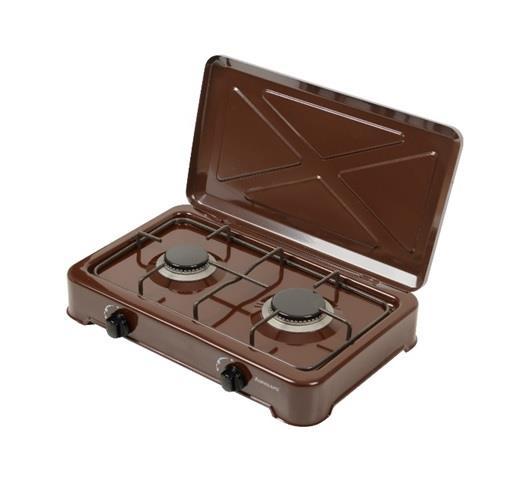 Camp stoves cooker Ravanson K-02BR | brown plīts virsma