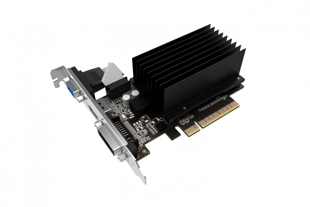 Palit GeForce GT 710 1GB DDR3 (64 bit) DVI, HDMI, D-SUB (NEAT7100HD06H) video karte