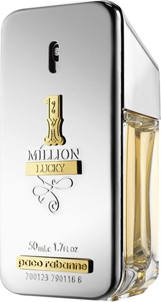 PACO RABANNE Woda toaletowa 1 Million Lucky EDT dla mezczyzn 50 ml 5663279 Vīriešu Smaržas