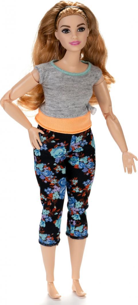 Mattel BARBIE Made to move flowery dolls (FTG80) bērnu rotaļlieta