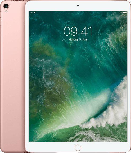 Apple iPad Pro 10.5 Wi-Fi 512GB Rose Gold Planšetdators