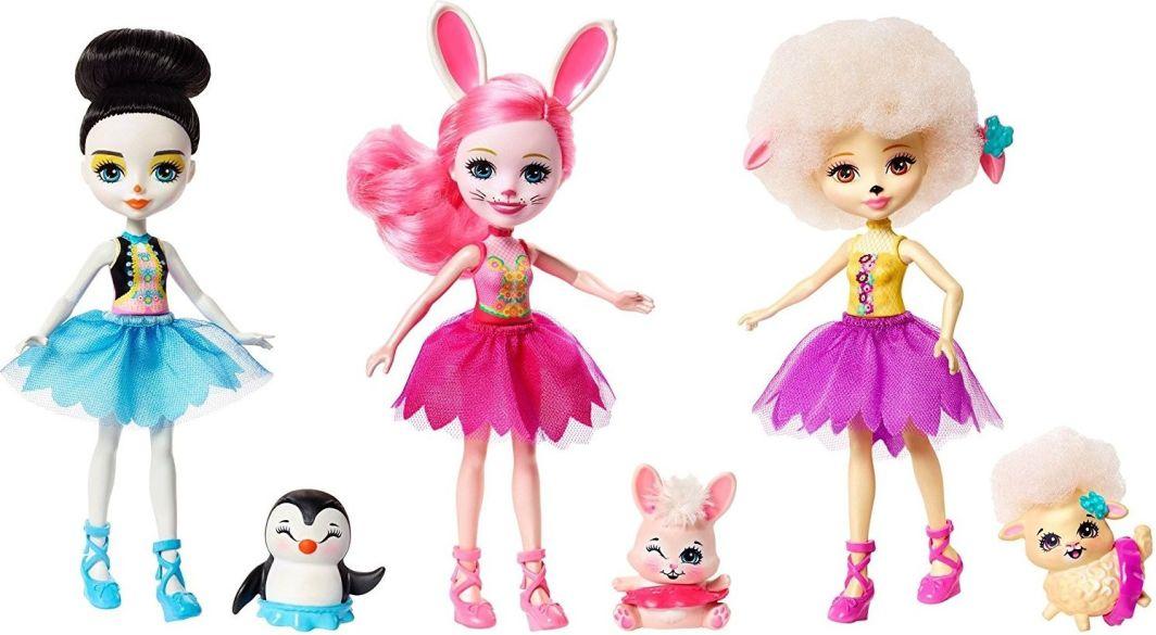 Mattel Enchantimals Baletnice  (FRH55) bērnu rotaļlieta