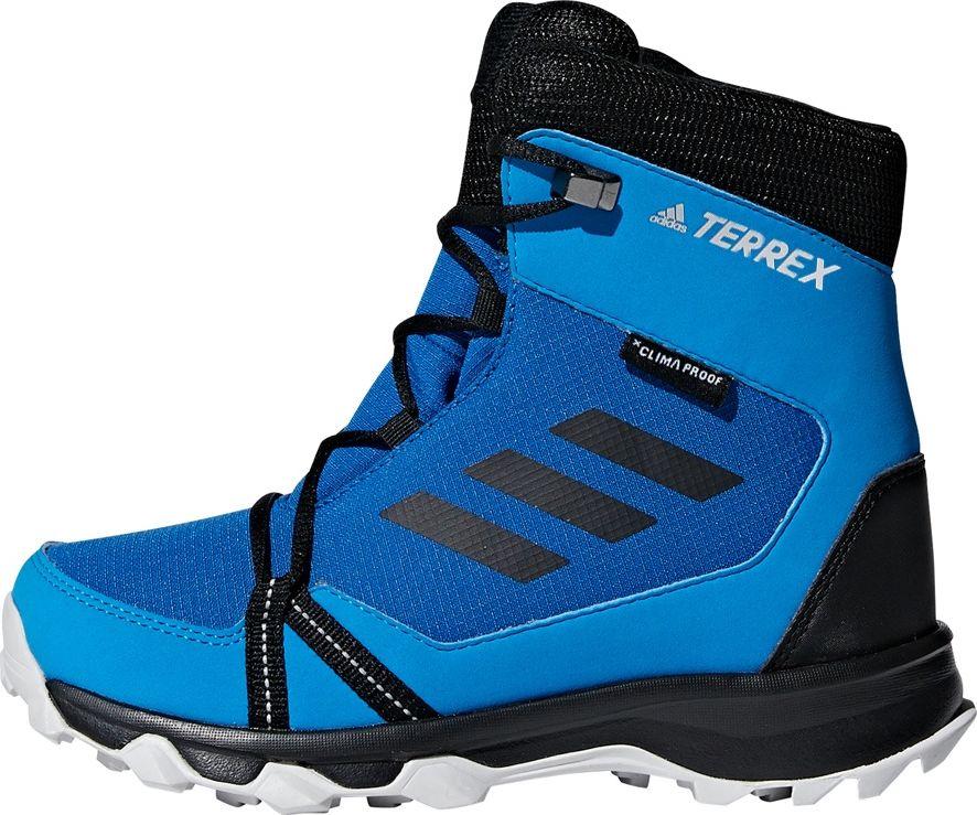 Adidas Buty dzieciece Terrex Snow Cp Cc niebieskie r. 38 2/3 (AC7971) AC7971