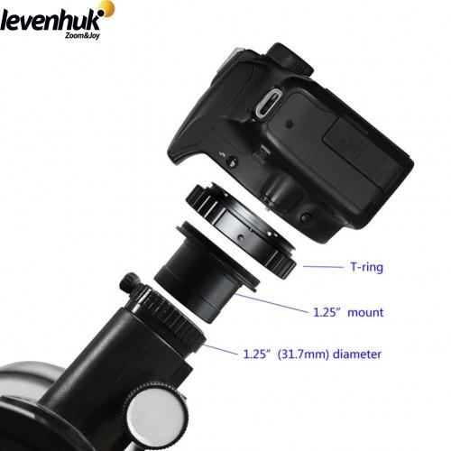Canon Kameras  Adapteris + Gredzens (Teleskopiem, Talskatiem, Mikroskopiem) Adapter Tālskatis