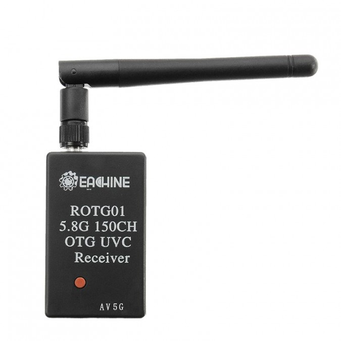 GPX Extreme Receiver FPV AV for telephone ROTG01, UVC, OTG, 5.8GHz, 150CH (SKU634696)
