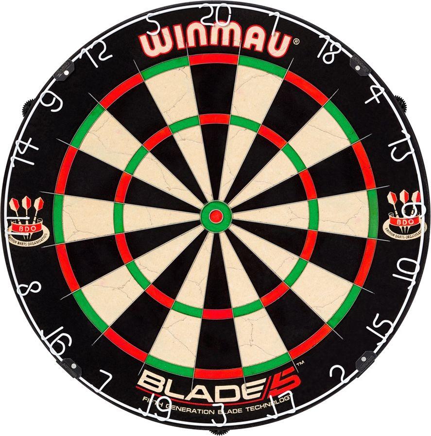 Winmau Sisal Shield Winmau Blade 5 45 cm (S399089) Sporta aksesuāri