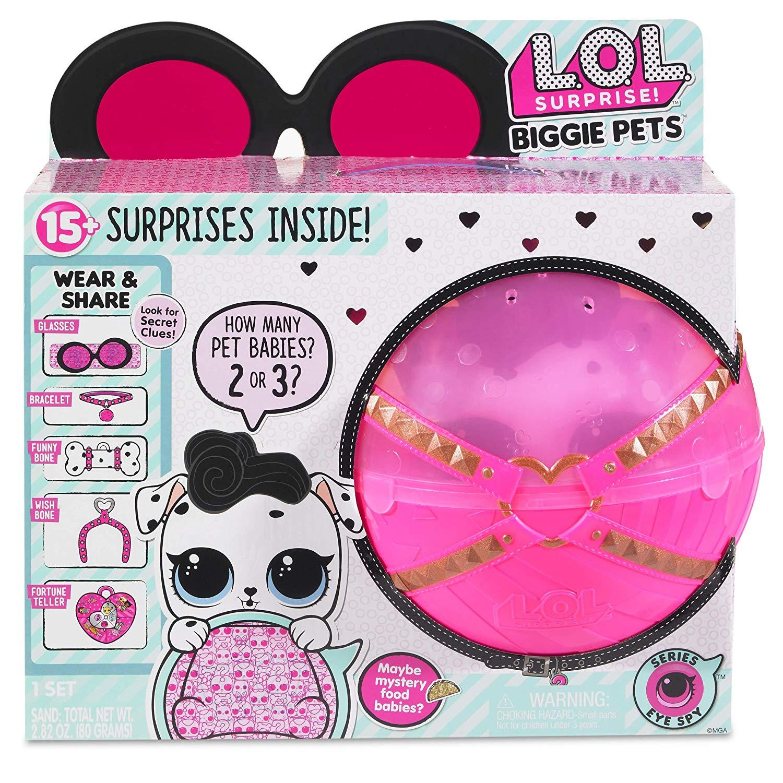 MGA LOL L.O.L. BIG Surprise Biggie Pets - Dollmation Mini Backpack bērnu rotaļlieta