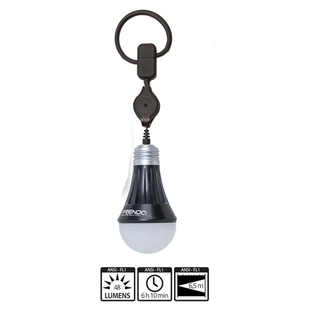 FRENDO Rechargeable Lantern Ambi'Light-R LED, 48 lm, Charging level indicator, Extensible cable 808523