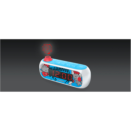 Muse M-167KDB Image, Alarm function, AUX in, Projection Clock Radio PLL mūzikas centrs