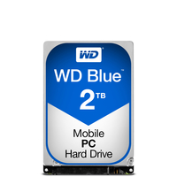 WD Blue WD20NPVZ 2.5'' 2TB SATA3 5400RPM 8MB cietais disks