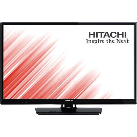 """Hitachi 24HB4T05 24"""" (60 cm),  HD Ready, 1366 x 768 pixels, DVB-T/T2/C, Black 24HB4T05 LED Televizors"""