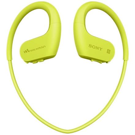 Sony Waterproof and dustproof Walkman NW-WS623G Lime Green, Yes, 4 GB NWWS623G.CEW MP3 atskaņotājs