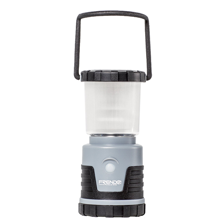 FRENDO Lantern Power'Light Grey 4 Cool White LED's + 4 Warm White LED's, 0-380 lm, 4 lighting types (natural, col