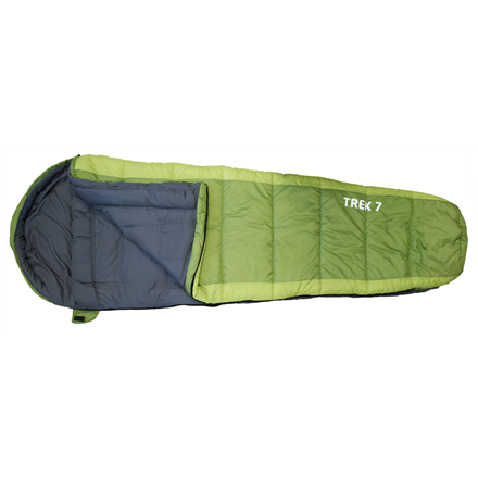 FRENDO Trek 7, Sleeping bag, 215x80(55) cm, +7/-3/-12 °C, Left side zipper 301302 guļammaiss