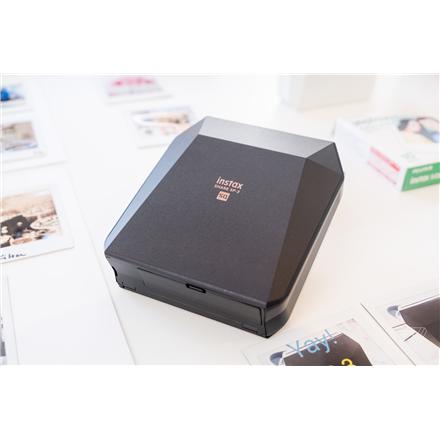 Fujifilm Instax SHARE SP-3 printer + Instax Square glossy (10pl) 3-color exposure with OLED, Mobile Printer, Wi-Fi, Black Digitālā kamera
