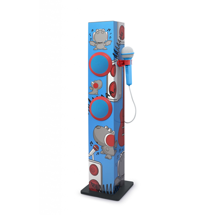 Muse Sing-A-Long Tower M-1020 KDB Bluetooth, AUX in mūzikas centrs