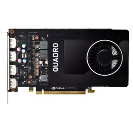 Dell NVIDIA, 5 GB, Quadro P2000, PCI Express 3.0, 4 x DisplayPort video karte