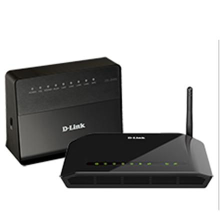 D-Link ADSL2+ Modem Router DSL-2640U/RA 802.11n, 150 Mbit/s, 10/100 Mbit/s, Ethernet LAN (RJ-45) ports 4, 1xADSL port for RJ-11 DSL-2640U/RA