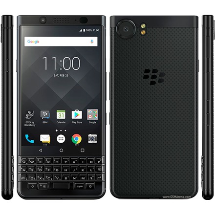 "BlackBerry KEYone Black, 4.5 "", IPS LCD, 1080 x 1620 pixels, Snapdragon 625, Internal RAM 4 GB, 64 GB, microSD, Single SIM, Nano-SI Mobilais Telefons"